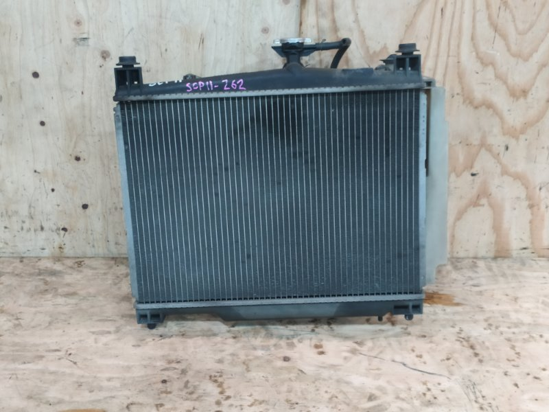 Радиатор двигателя Toyota Platz SCP11 1SZ-FE 2002