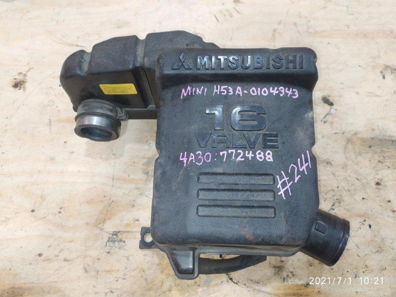 Резонатор воздушного фильтра Mitsubishi Pajero Mini H53A 4A30 2000