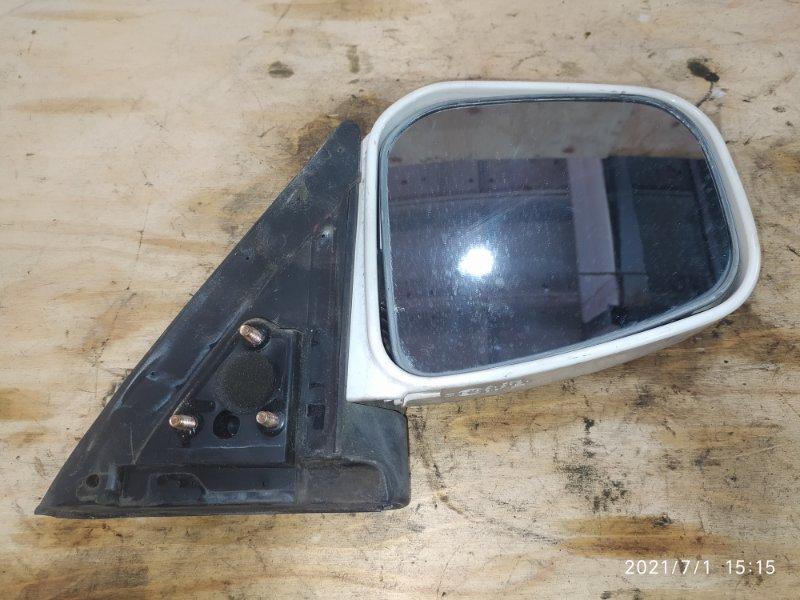 Зеркало боковое Mitsubishi Pajero Mini H53A 4A30 2000 правое