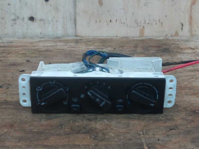 Блок управления климат-контролем Mitsubishi Pajero Mini H53A 4A30 2000