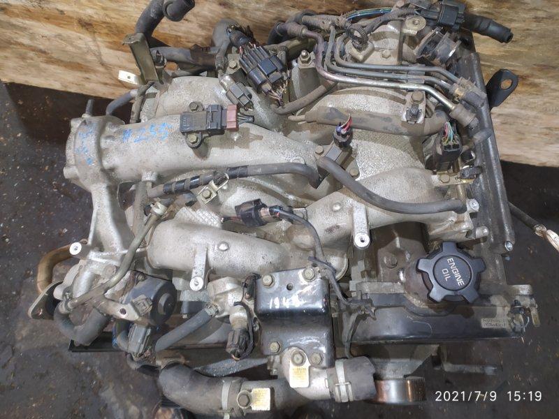 Двигатель Mitsubishi Pajero V75W 6G74 1999
