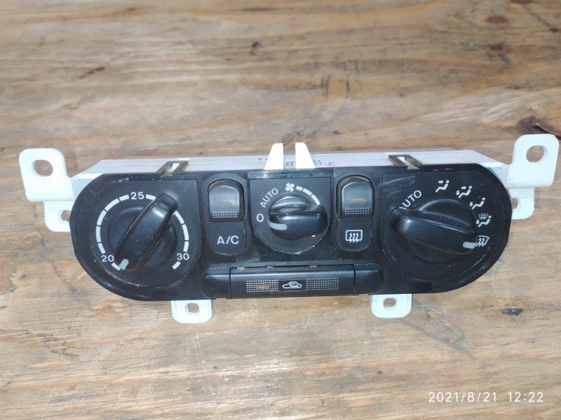 Блок управления климат-контролем Mazda Familia BJ5P ZL-DE 1999