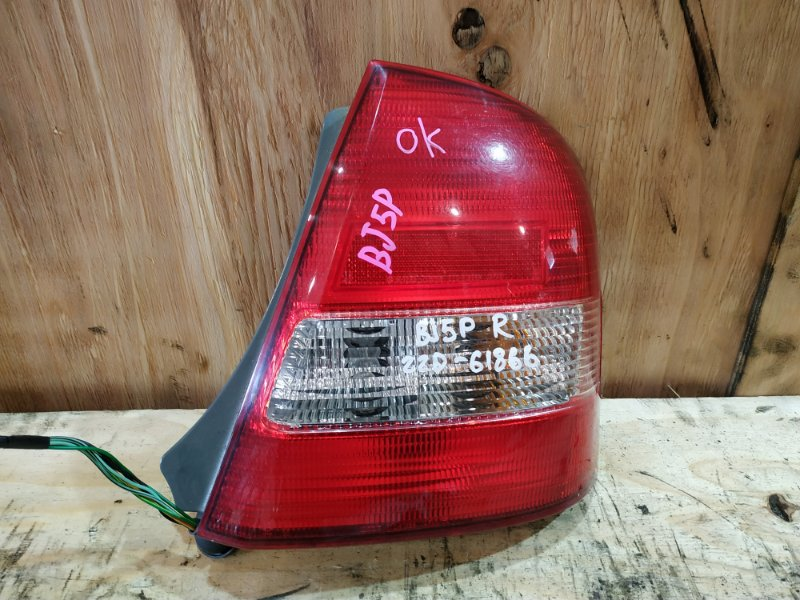 Фонарь стоп-сигнала Mazda Familia BJ5P ZL-DE 1999 правый