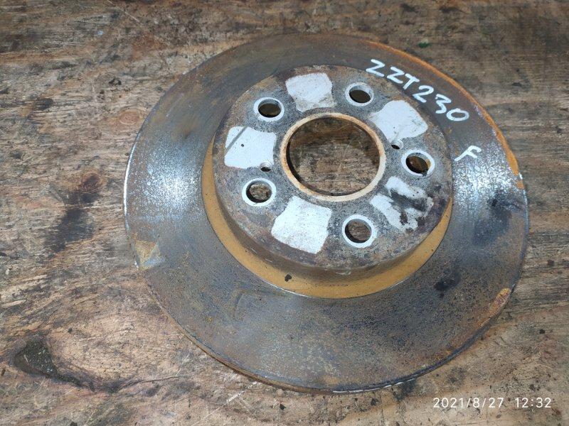 Диск тормозной Toyota Celica ZZT230 1ZZ-FE 2000 передний
