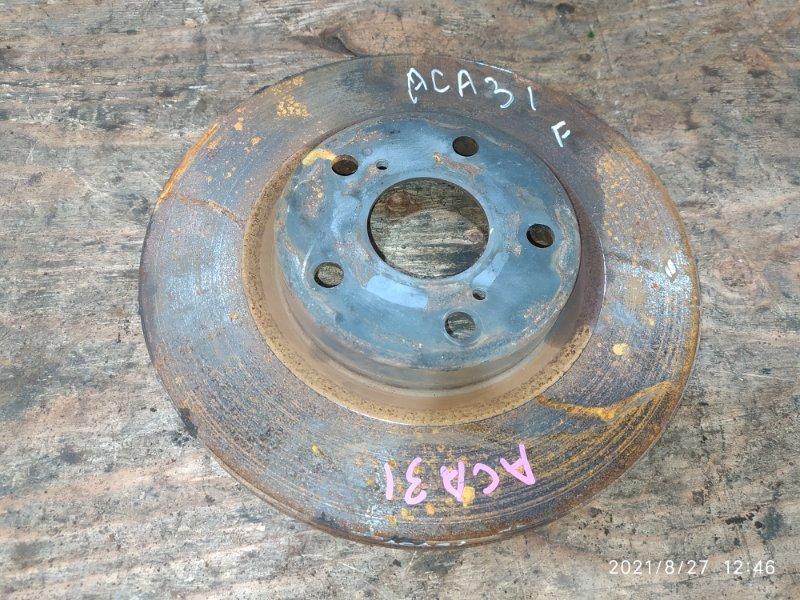 Диск тормозной Toyota Rav4 ACA31W 2AZ-FE 2007 передний