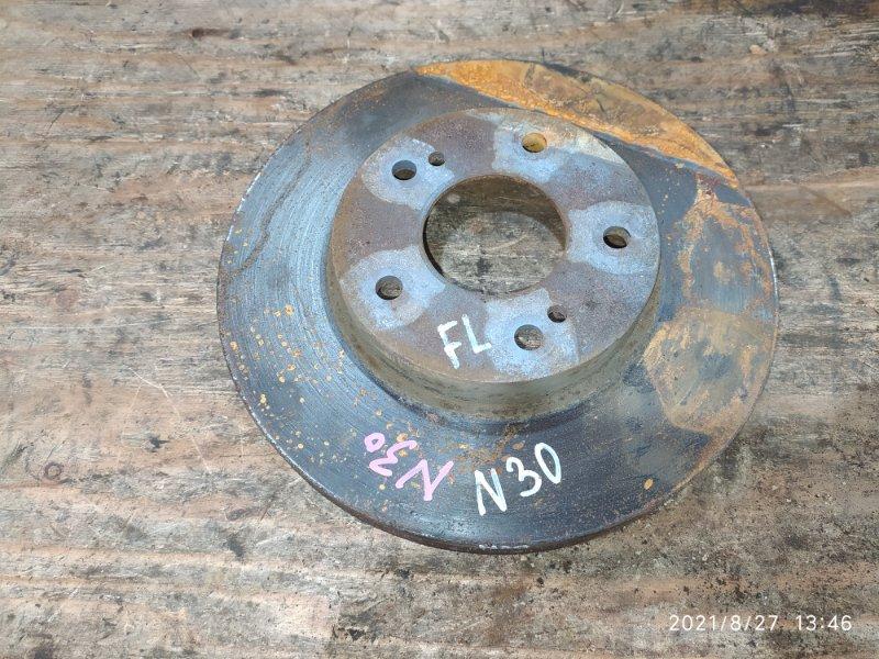 Диск тормозной Nissan Rnessa N30 SR20DE 1998 передний