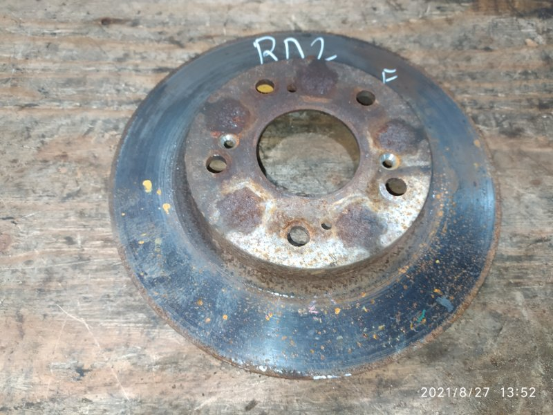 Диск тормозной Honda Cr-V RD2 B20B 2000 передний