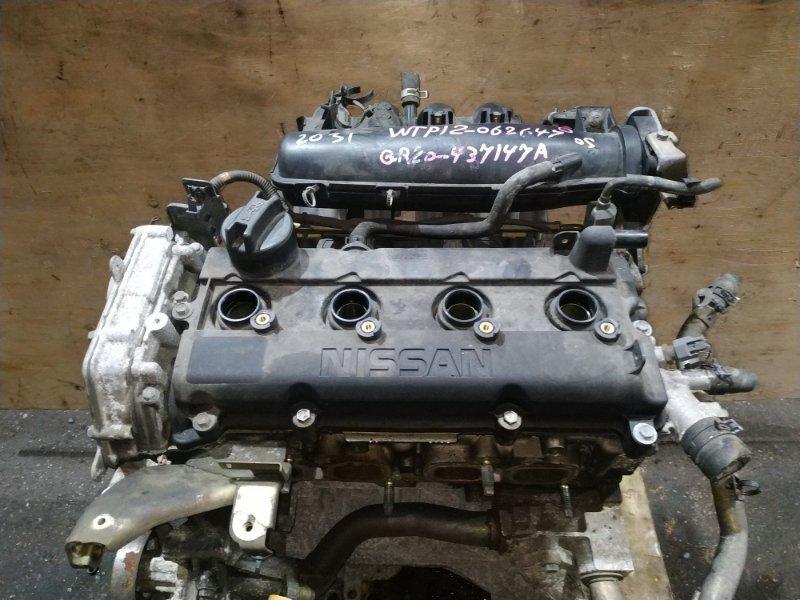 Двигатель Nissan Primera WTP12 QR20DE 2004