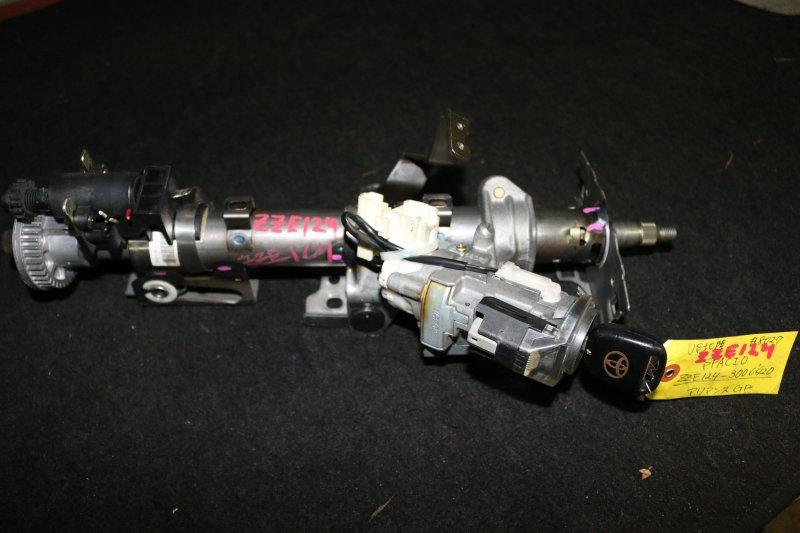 Замок зажигания Toyota Corolla Spacio NZE124 1ZZ 2002 Продается в сборе с рулевой колонкой. (б/у)