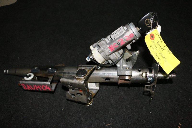Замок зажигания Toyota Raum NCZ20 1NZ 2004 Продается в сборе с рулевой колонкой. (б/у)