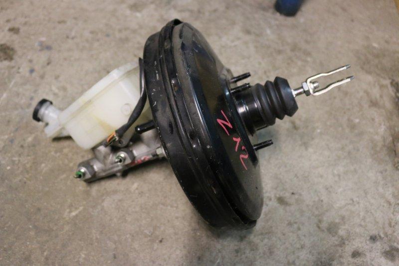 Вакуумный усилитель тормозов Nissan Cube Z12 HR15 2009 Продается в сборе с ГТЦ и бачком (б/у)