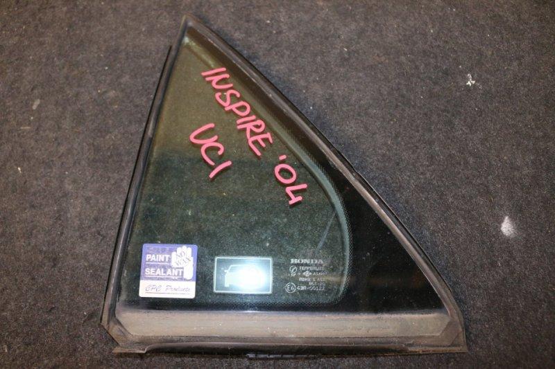 Форточка двери Honda Inspire UC1 J30A 2004 задняя левая (б/у)