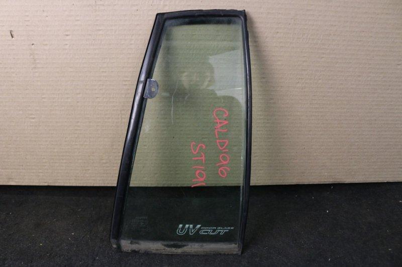 Форточка двери Toyota Caldina ST191 3S 1996 задняя правая (б/у)