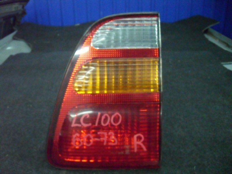 Вставка багажника Toyota Land Cruiser UZJ100 2005 левая 60-73 (б/у)