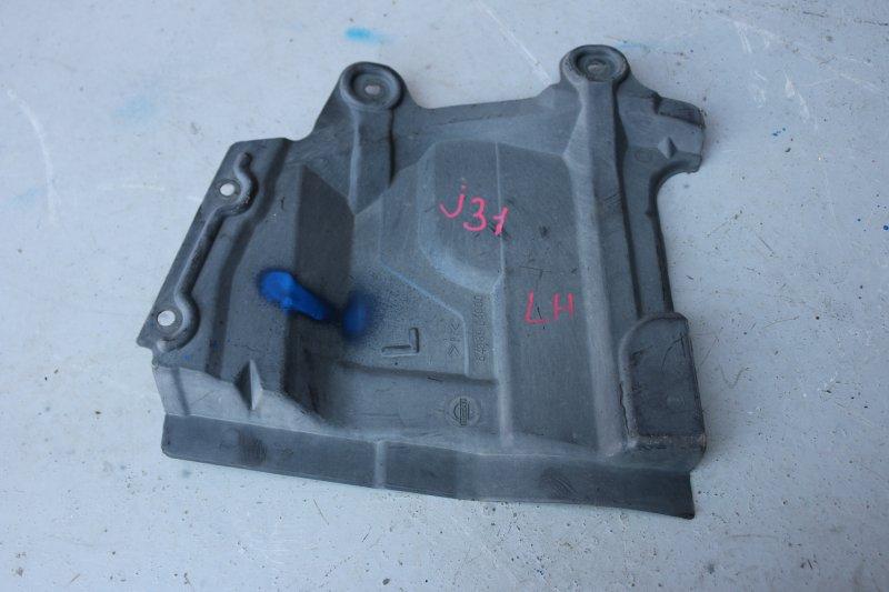Защита двигателя Nissan Teana J31 VQ23 2007 передняя левая (б/у)