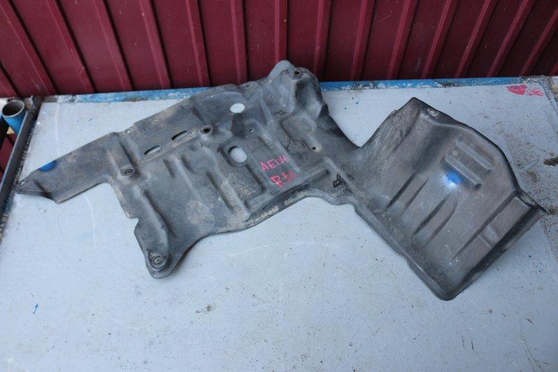 Защита двигателя Toyota Sprinter Carib AE114 4A 1998 передняя правая (б/у)