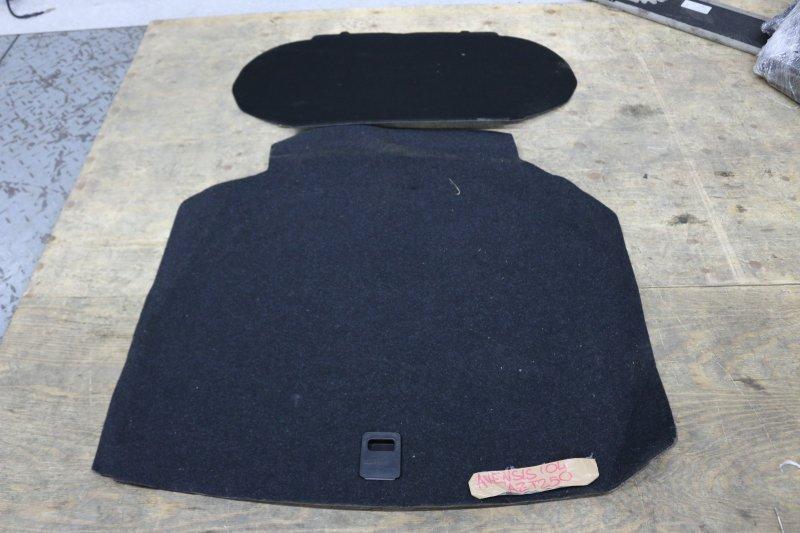 Коврик Toyota Avensis AZT250 1AZ 2004 Ковровое покрытие в багажник. (б/у)