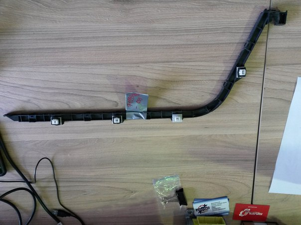 Крепление бампера Honda Accord Wagon CM2 K24A 2005 заднее правое В наличии 5 шт., цена указана за  (б/у)