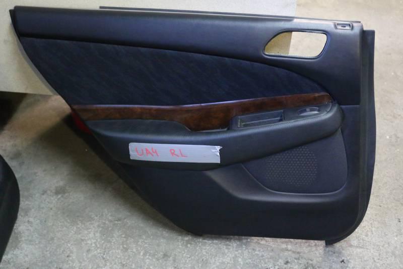 Обшивка двери Honda Saber UA4 J25A задняя левая Снята кнопка. (б/у)
