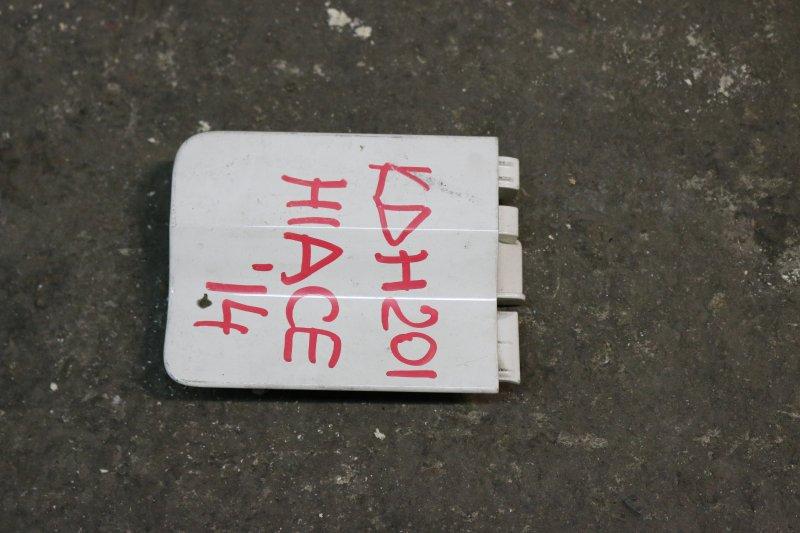 Ограничитель двери Toyota Hiace KDH201 1KD 2014 задний правый Ограничитель сдвижной двери. (б/у)