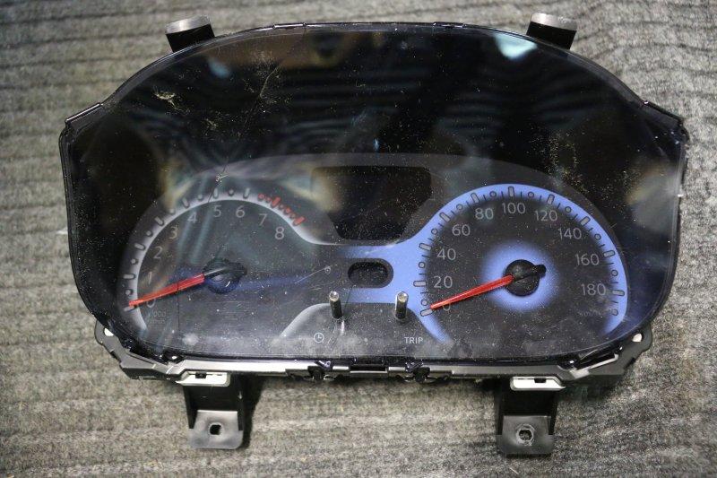 Панель приборов Nissan Cube Z12 HR15 2009 трещина на стекле (б/у)