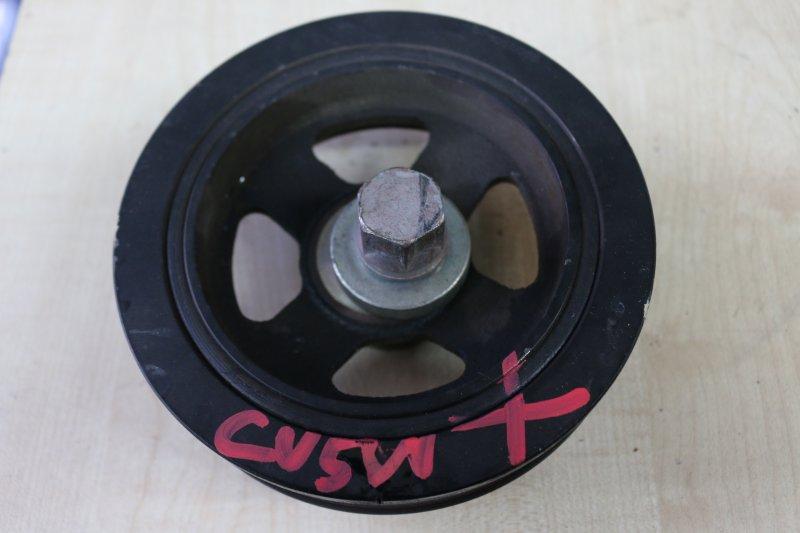 Шкив коленвала Mitsubishi Delica D5 CV5W 4B12 2007 (б/у)