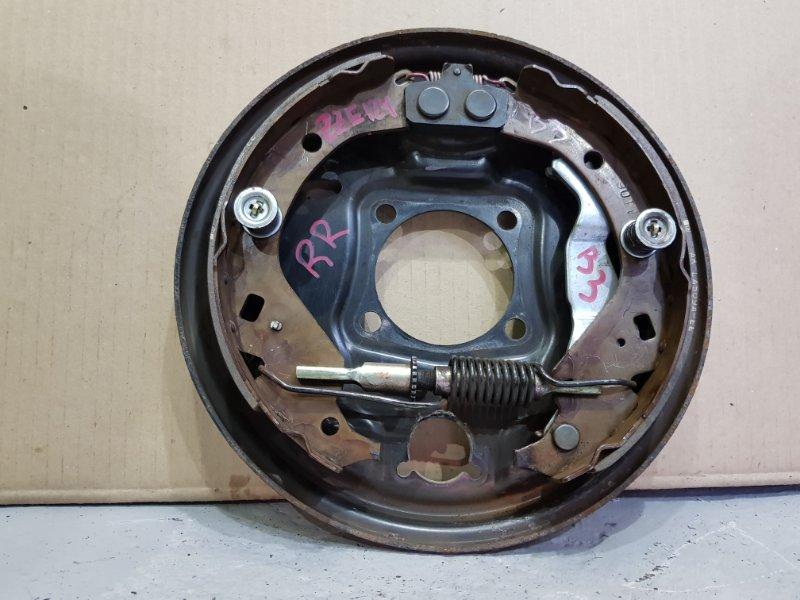 Рабочая тормозная система Toyota Corolla Spacio ZZE124 1ZZ 2001 задняя правая Диаметр 280мм. Нет (б/у)