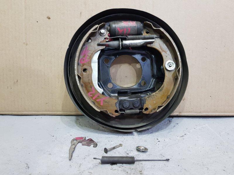 Рабочая тормозная система Nissan Wingroad Y12 HR15 2007 задняя правая (б/у)