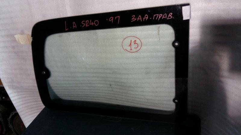 Стекло боковое Toyota Noah SR40 3S 1997 заднее правое GRN,13 (б/у)