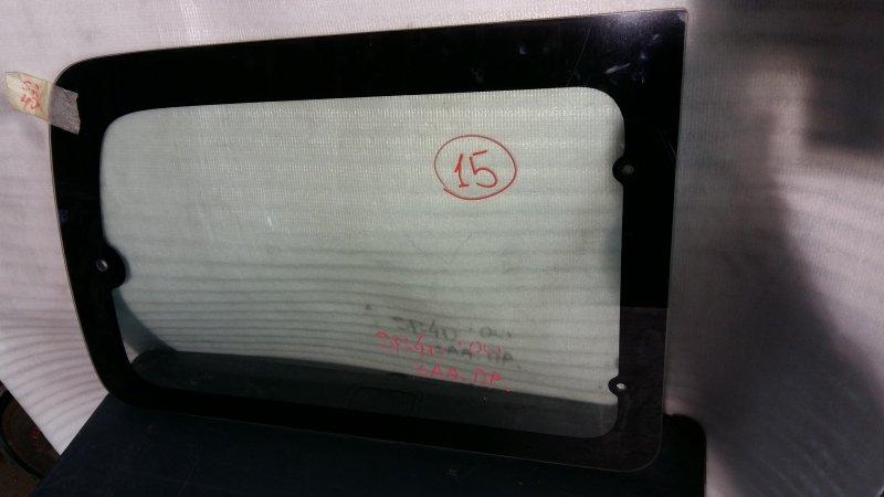 Стекло боковое Toyota Noah SR40 3S 2000 заднее правое GRN,15 (б/у)
