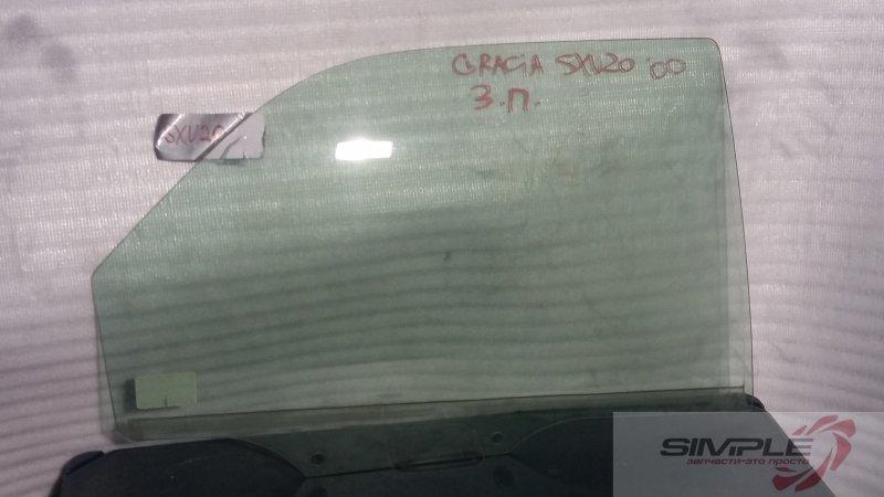 Стекло боковое Toyota Camry Gracia SXV20 5S 2000 заднее правое GRN, 3 (б/у)