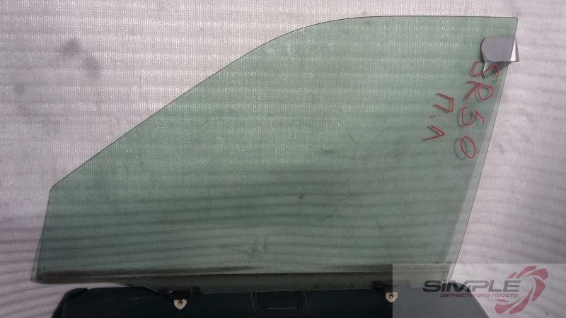 Стекло боковое Toyota Noah SR50 3S 2000 переднее левое (б/у)