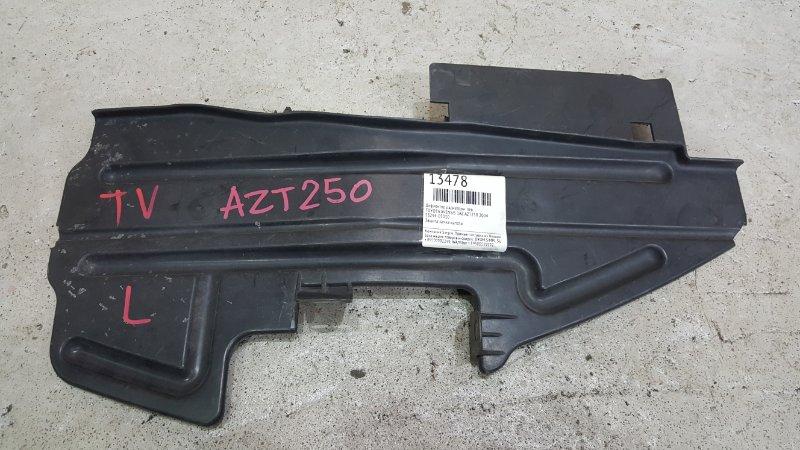 Дефлектор радиатора Toyota Avensis AZT250 1AZ-FSE 2003 левый (б/у)