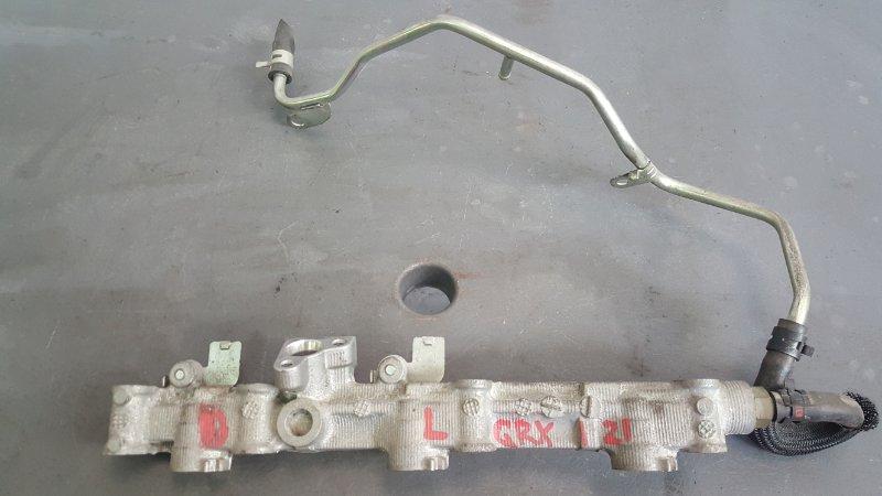 Топливная рейка Toyota Mark X GRX121 3GR-FSE 2005 левая (б/у)