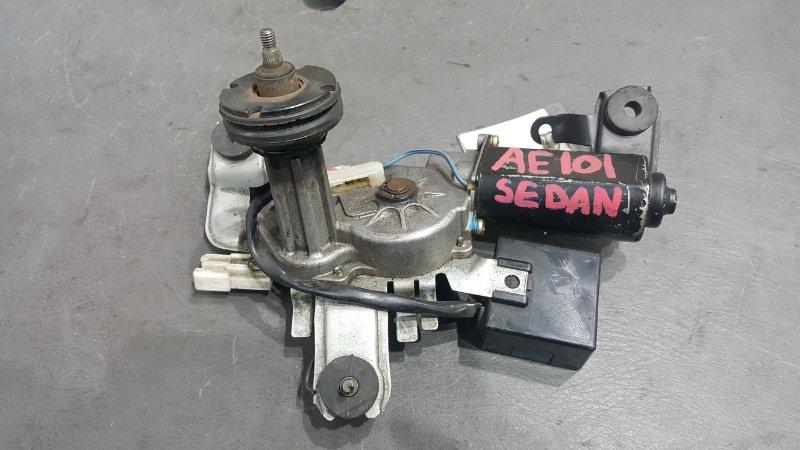 Моторчик заднего дворника Toyota Corolla AE101 4A 1995 Седан (б/у)