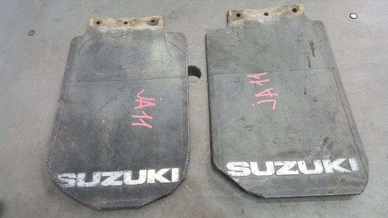 Брызговики Suzuki Jimny JA11 F6A 1990 2 шт. (б/у)