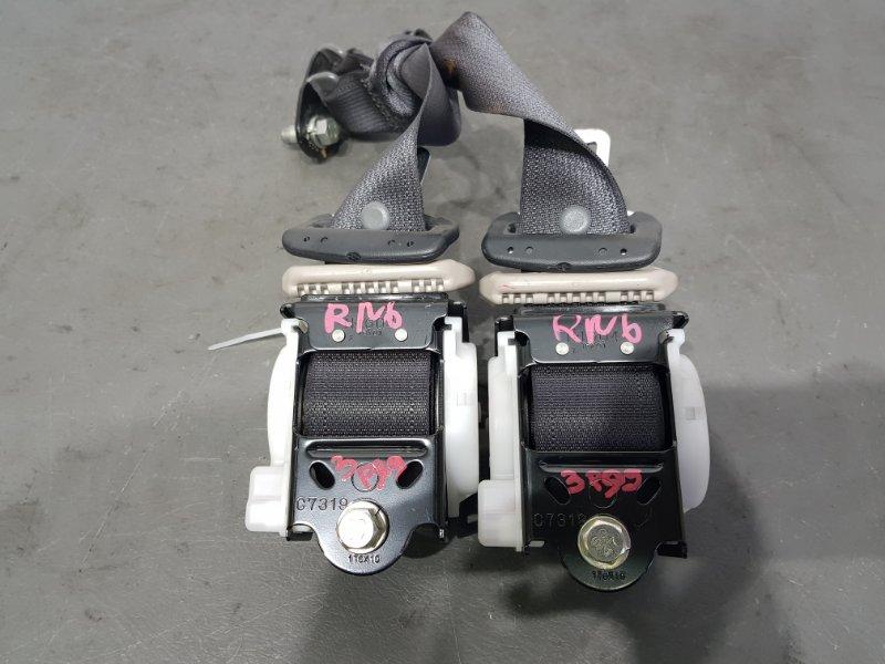 Ремень безопасности Honda Stream RN6 R18A 2006 задний 3 ряд. Цена за пару. (б/у)
