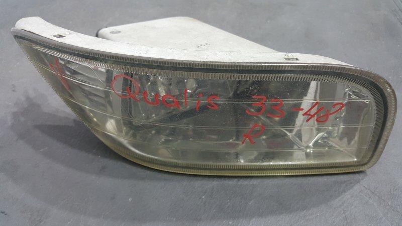 Фара противотуманная Toyota Mark Ii Wagon Qualis MCV21 2MZ 1997 правая 33-48 (б/у)