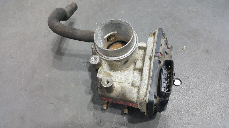 Заслонка дроссельная Toyota Belta SCP92 2SZ 2006 (б/у)