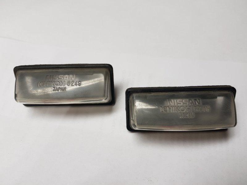 Фонарь освещения номерного знака Nissan Wingroad Y12 HR15 2007 задний Цена за пару. (б/у)