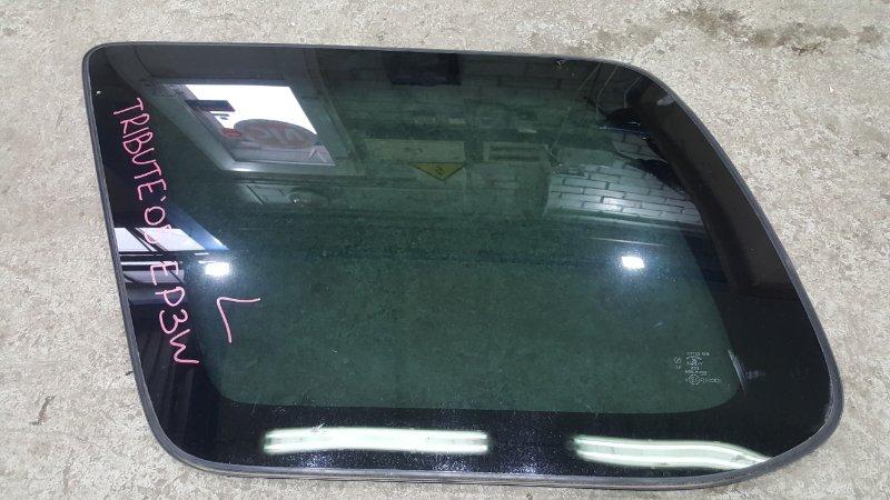 Стекло собачника Mazda Tribute EP3W L3 2005 заднее левое (б/у)