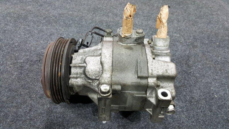 Компрессор кондиционера Toyota Vitz SCP10 1SZ 1999 (б/у)
