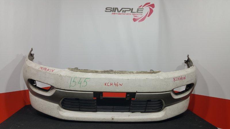 Бампер Toyota Hiace Regius RCH41W 1997 передний (б/у)