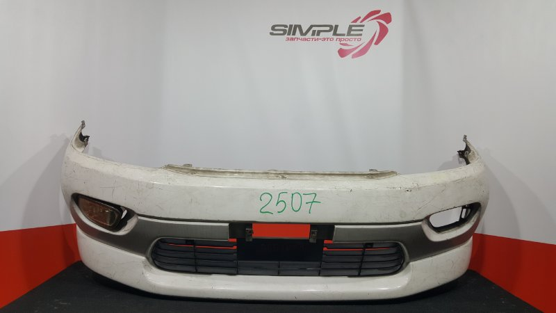 Бампер Toyota Hiace Regius RCH41W 1998 передний (б/у)