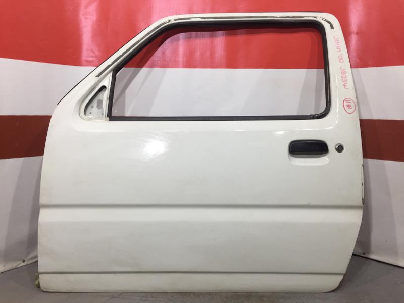 Замок двери Suzuki Jimny JB23W K6AT 2000 передний левый (б/у)