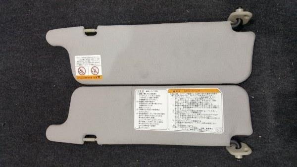 Козырек солнцезащитный Toyota Duet M111A K3 2004 правый Продаются парой, цена указана за 1  (б/у)