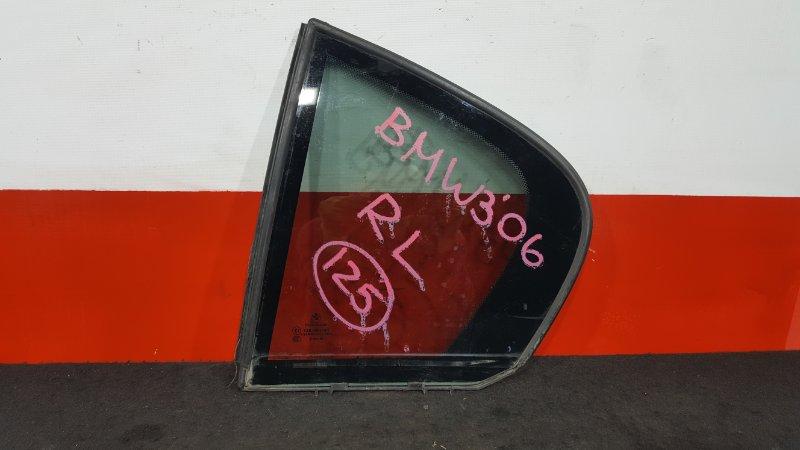 Форточка двери Bmw 3-Series E90 N52B25A 2006 задняя левая (б/у)