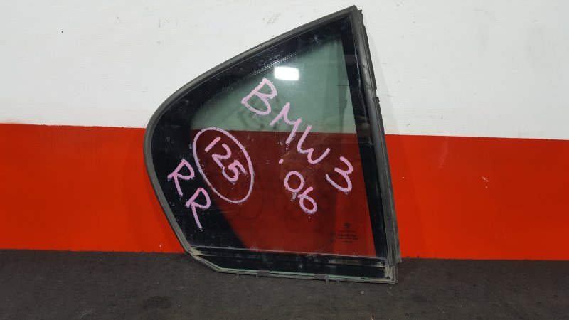 Форточка двери Bmw 3-Series E90 N52B25A 2006 задняя правая (б/у)