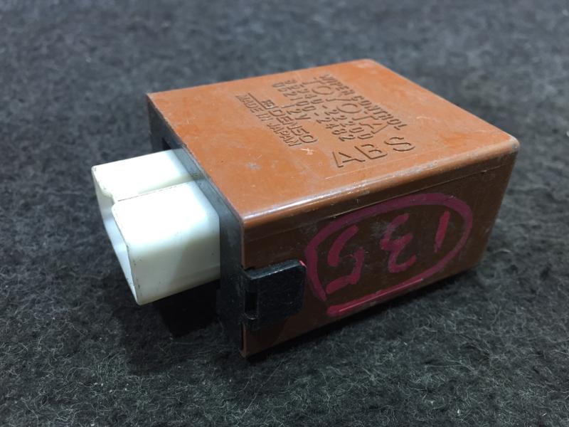 Блок управления стеклоочистителем Toyota Mark Ii GX90 1G 1995 (б/у)