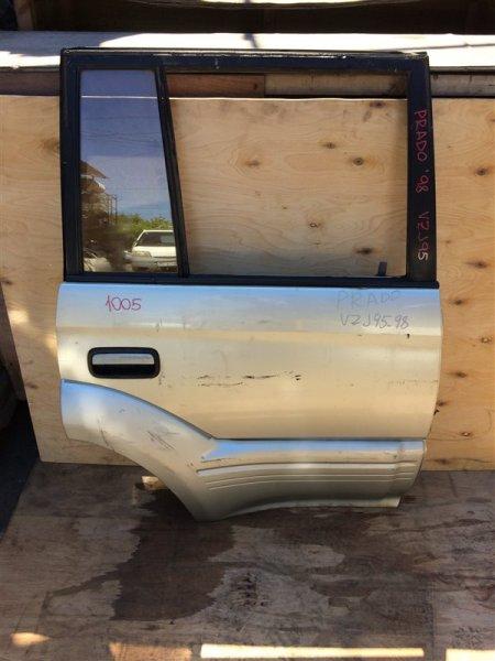 Дверь боковая Toyota Land Cruiser Prado KZJ95 1998 задняя правая 1005 (б/у)